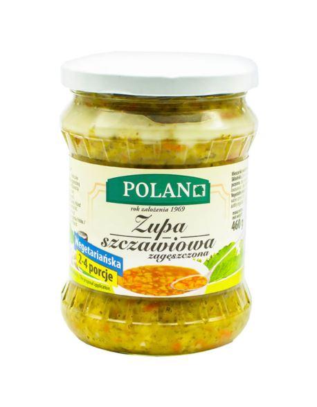 ZUPA SZCZAWIOWA WEGETARIAŃSKA 460G POLAN