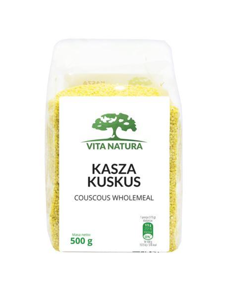 KASZA KUSKUS 500G VITA NATURA