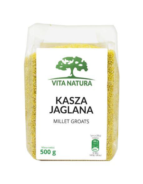 KASZA JAGLANA 500G VITA NATURA