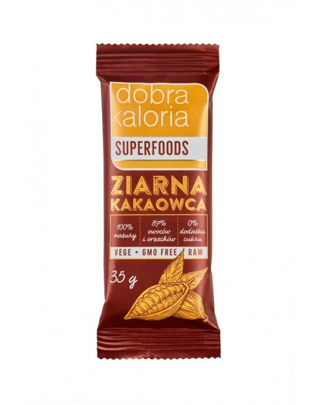 BATON SUPERFOODS ZIARNA KAKAOWCA 35G