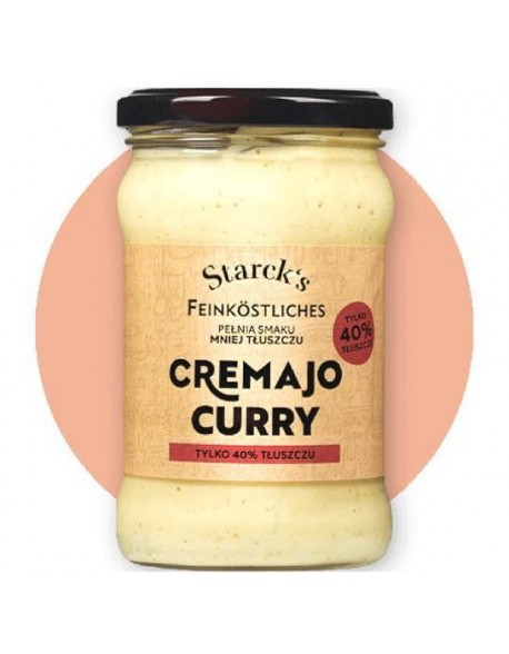 MAJONEZ BEZ JAJ CREMAJO CURRY 270G STARCK'S FOOD