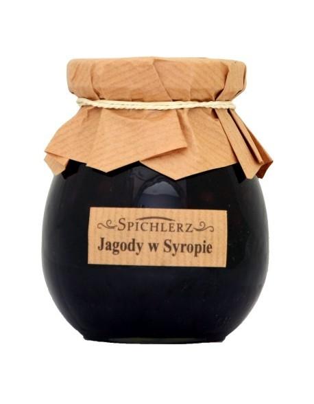 JAGODY W SYROPIE 280G SPICHLERZ
