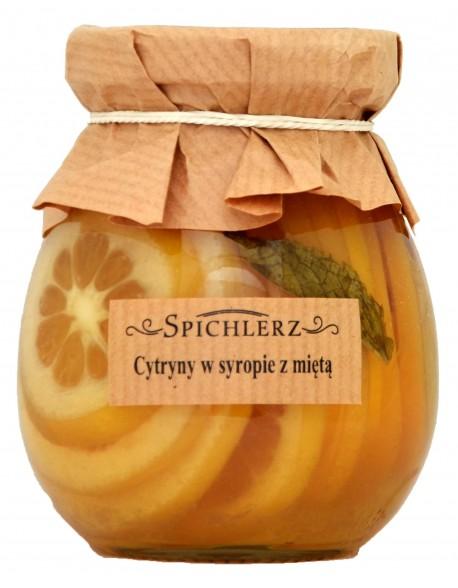 CYTRYNA W SYROPIE Z MIĘTĄ 260G SPICHLERZ