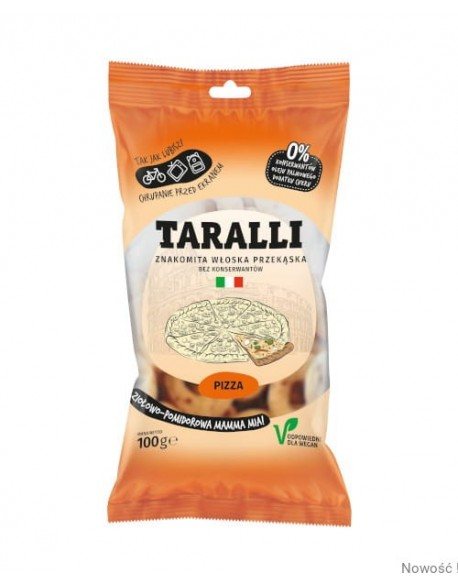 "TARALLI PIZZA 100G ,,A TO DOBRE"""