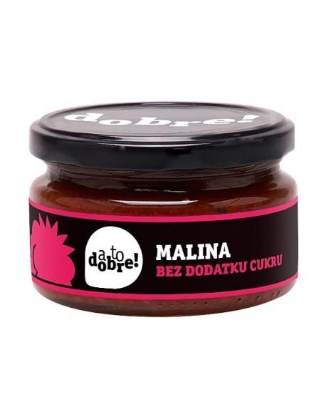 "KONFITURA MALINA BEZ CUKRU 210G ,, A TO DOBRE"""