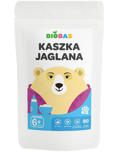 KASZKA JAGLANA BIOBAS 200G POLBIOECO