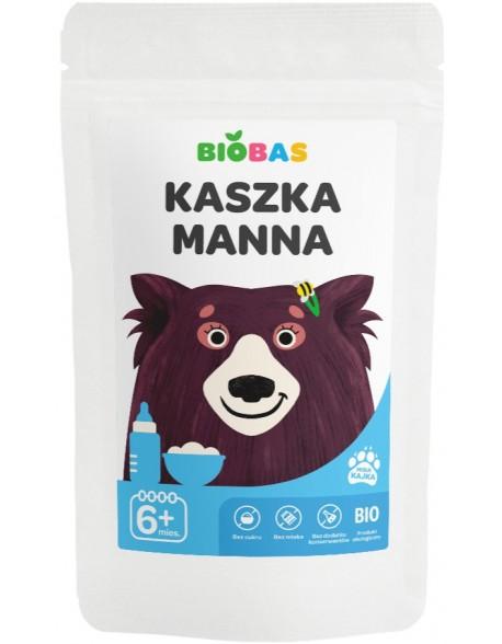 KASZKA MANNA BIOBAS 200G POLBIOECO