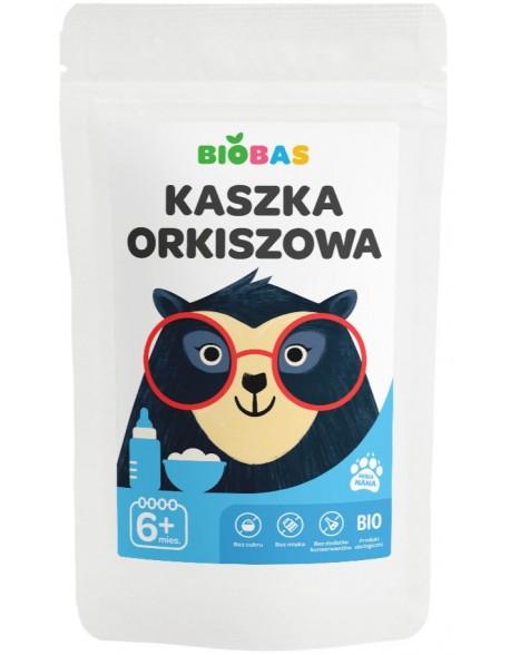 KASZKA ORKISZOWA BIOBAS 200G POLBIOECO